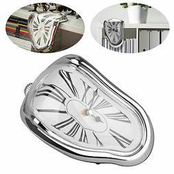Novelty Table Melting Time Flow Desk Clock Decorative Sits o