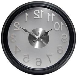 Infinity Instruments The Onyx Wall Clock