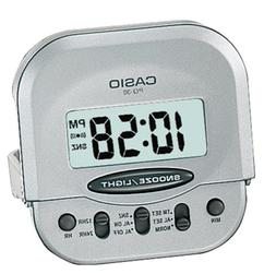 Casio Original Small Travel-Table Digital Alarm Clock PQ-30D