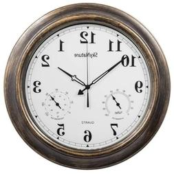 SkyNature Outdoor Clocks, 18 Inch Large Indoor Wall Clock Wa
