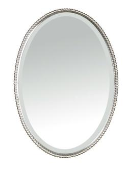 Uttermost 'Sherise' Oval Mirror, Size One Size - Metallic