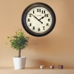 Oversized Wall Clock Large For Living Room Battery Operated