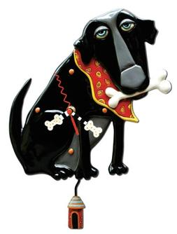 Parker Dog pendulum clock