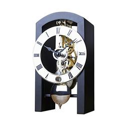 Hermle PATTERSON Mechanical Table Clock #23015740721, Black