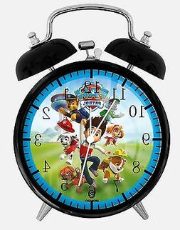 "PAW Patrol Alarm Desk Clock 3.75"" Room Decor E69 Nice for Gi"