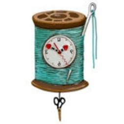 Allen Designs Pendulum Clock NEEDLE & THREAD