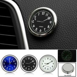 pocket mini quartz analog watch stick on