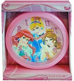 "Princess Cinderella Belle Ariel Clock 9.5"" Room Decoration M"