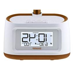 Sharp Projection Alarm Clock with Soothing Nature Sleep Soun