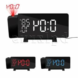 Projection Clock Digital Projection Alarm Clock for Bedrooms