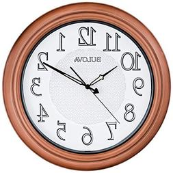 Bulova Providence Indoor/Outdoor Wall Clock, Copper