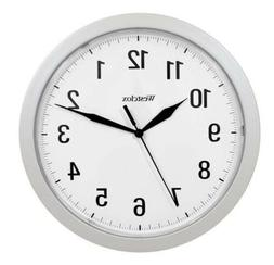 "Westclox Quartz 9.75"" Wall Clock with Hidden Storage 32255"