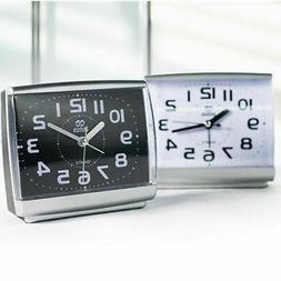 Quartz Analogue Bedside Desk Beep Alarm Clock Table Desktop