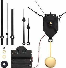 Quartz Pendulum Trigger Clock Movement Chime Music Box Compl