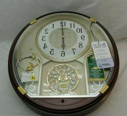 Seiko QXM470BRH Starry Night Melody in Motion Clock