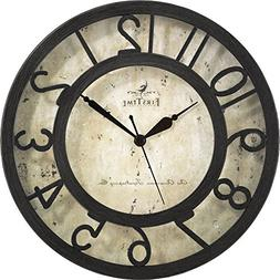 FirsTime Raised Crackle Wall Clock