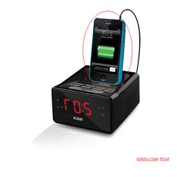 RCA Desktop Clock Radio - Apple Dock Interface - Proprietary