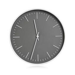"""RCA RCWC10WG Wall Clock, 10"""" Round - Grey. Decorative Wall C"""