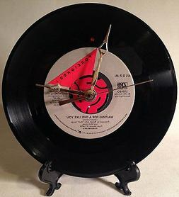 """Recycled Foreigner 7"""" Vinyl Record / Waiting For A Girl Like"""