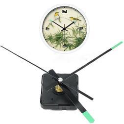 Replacement DIY Quartz Clock Movement Mechanism Motor Kits W