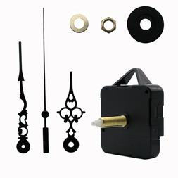 Replacement Wall Clock Quartz Movement Mechanism Hands DIY R