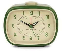 Retro Alarm Clock - Color: Green