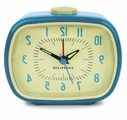 Retro Alarm Clock - Color: Blue
