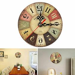 Retro Antique Decor Wall Clocks Decoration Clock Shabby Chic