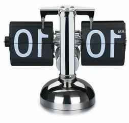 WoneNice Retro Digital Flip Down Clock - Internal Gear Opera