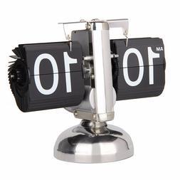 Betus Retro Flip Desk Shelf Clock Classic Mechanical-Digital
