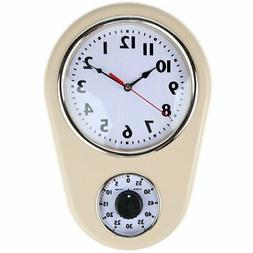 Retro Kitchen Timer Wall Clock. by Lily's Home