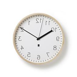 Umbra Rimwood WALL CLOCK, Decorative Wooden Wall Clock, Made