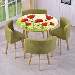 iPrint Round Table/Wall/Floor Decal Strikers/Removable/Sprin
