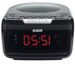RCA RP5605R AM/FM CD Clock Radio with Large LED Display