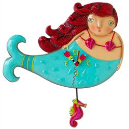 Allen Designs Ruby The Mermaid Pendulum Child's Kids Whimsic