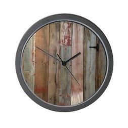 "CafePress - Rustic Western Barn Wood - Unique Decorative 10"""