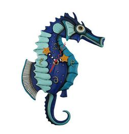 Allen Designs Salty Seahorse Pendulum Child's Kids Whimsical