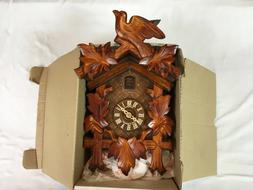 Schwartzwälder Uhren Cuckoo Clock Never Used Weights Box In
