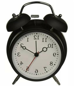 HITO Silent Analog Alarm Clock Vintage Retro Classic Night L
