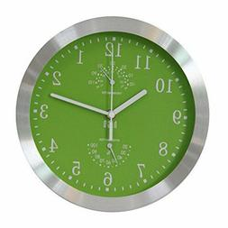 hito Modern Silent Wall Clock Non Ticking 10 inch Excellent