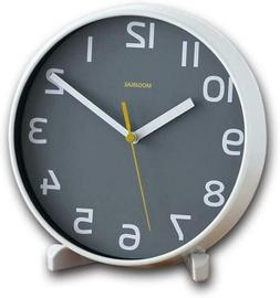 Justup Silent Table Clock, 8 Inch Non-Ticking Battery Operat