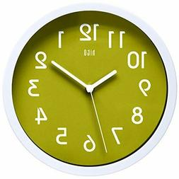hito Silent Wall Clock, 10 inch Non Ticking Excellent Accura