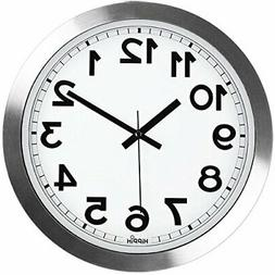 Silent Wall Clock, HIPPIH12 Inch Quiet Non-Ticking Office Wa
