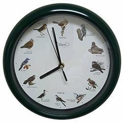 "Comfort Home Original Singing Bird Clock, 10"" W"