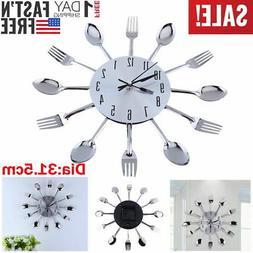 "Stainless 12.4"" Home Decorat Cutlery Kitchen Utensil Spoon F"