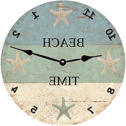 Starfish Beach Time Clock