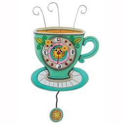 Allen Designs Sunny Cup Full of Coffee Kitchen Pendulum Batt