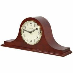Hermle Sweet Briar Mantel Clock in Cherry with Quartz Moveme