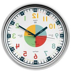 Teaching Clock with Silent Movement | Educational Clock that