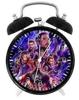 """The Avengers Endgame Alarm Desk Clock 4"""" Room Decor G12 Nice"""
